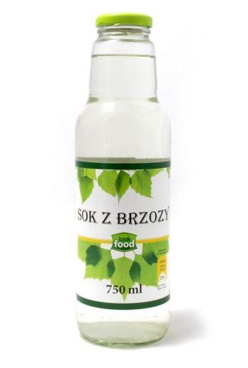 Birch juice 750ml / Sok z brzozy naturalny 750ml