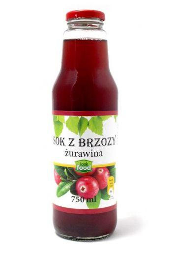 Birch juice with cranberry 750ml / Sok z brzozy z żurawiną 750ml