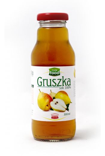 Pear juice 100% 300ml / Sok gruszka 100% 300ml( qty in box 12 )   /LOOK FOOD