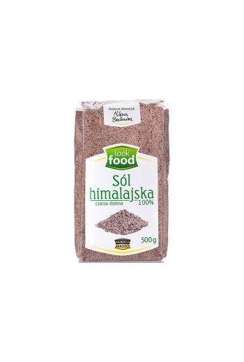 Himalayan salt black fine 100% 500g / Sól himalajska czarna drobna 100% 500g (qty in box 14) LOOK FOOD