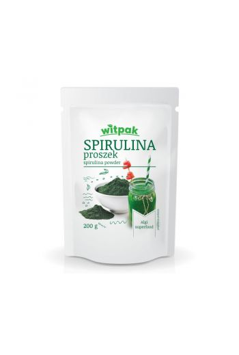 SPIRULIN POWDER 200G / SPIRULINA PROSZEK 200G (qnt in box 10)/WITPAK