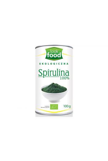Organic  Spirulina 100% 100g / Spirulina ekologiczna 100% 100g / Look Food