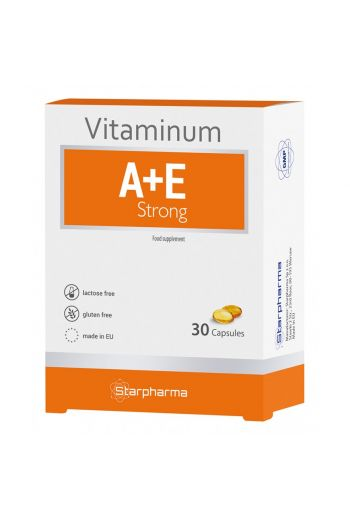 Vitamin A+E /Witamina A+E Strong 30 caps