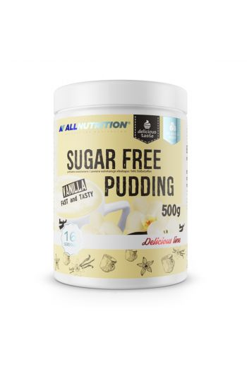 Delicious line sugar free pudding 500g-Vanilla / AN