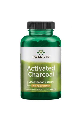 Activated Charcoal 120 cap / Swanson