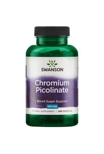 Chromium Picolinate 200 caps  / Swanson