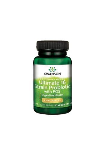 Ultimate 16 Strain Probiotic 60 caps / Swanson
