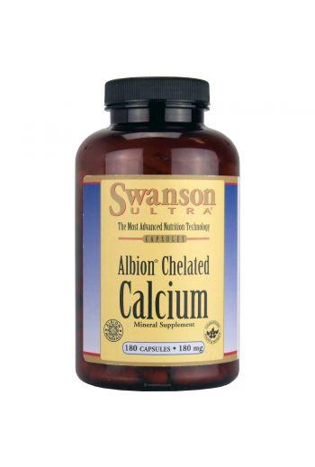 Albion Chelated calcium 180 caps / Swanson