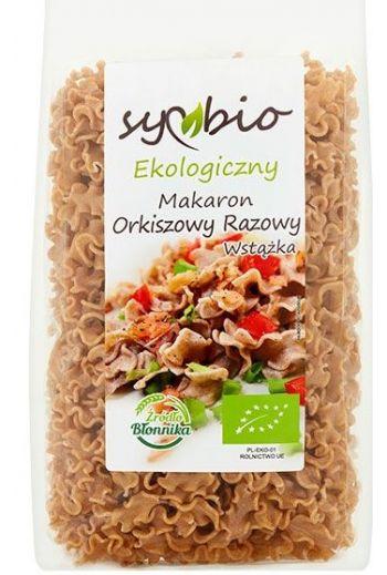 Symbio Organic Spelt Rye Ribbon Pasta 400g / Eko Makaron Orkiszowy Razowy Wstazka