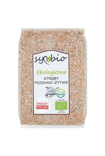 Symbio Organic wheat and rye bran 250 g /Ekologiczne Otręby pszenno- żytnie 250g