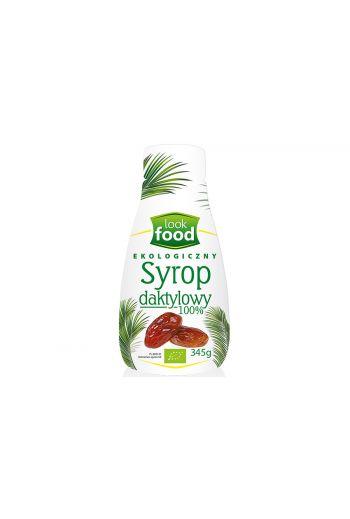 Organic date syrup 100% 345g / Syrop daktylowy ekologiczny 100% 345g  ( qty in box 6)  /LOOK FOOD