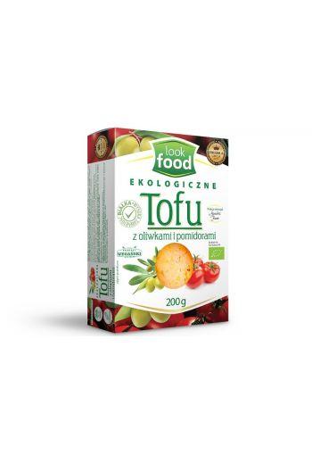 Organic tofu with olives and tomatoes 200g / Tofu z oliwkami i pomidorami ekologiczne 200g   /LOOK FOOD