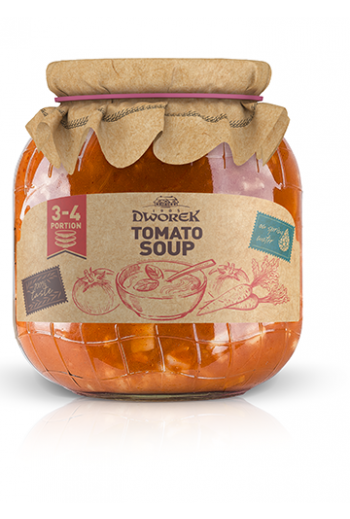 Tomato soup 720ml / Zupa pomidorowa 720ml ( qty in box 8)//DWOREK