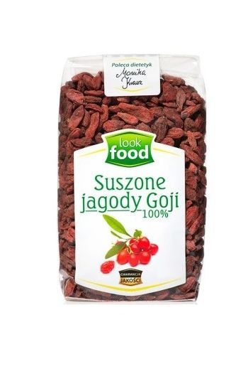Dried goji berries 100%  100g / Suszone jagody Goji 100% 100g (qty in 14) LOOK FOOD