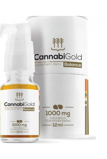 Cannabi Gold Balance 1000mg 12ml