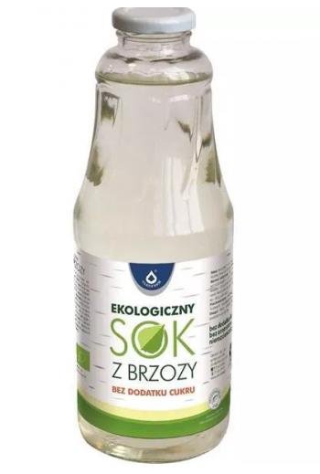 Organic birch juice 1L / Sok z brzozy ekologiczny 1L / Oleofarm