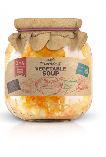 Vegetable soup 720ml / Zupa jarzynowa 720ml ( qty in box 8)// DWOREK