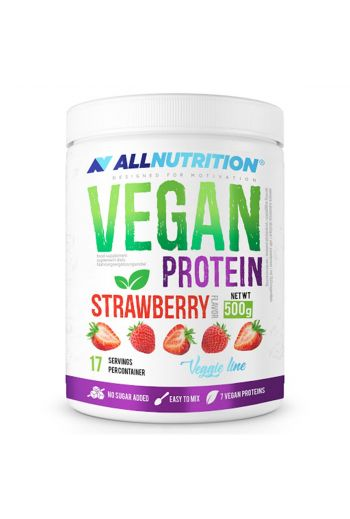 Vegan protein strawberry 500g / AN