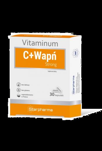 Witamina C + Wapń Strong 30 caps