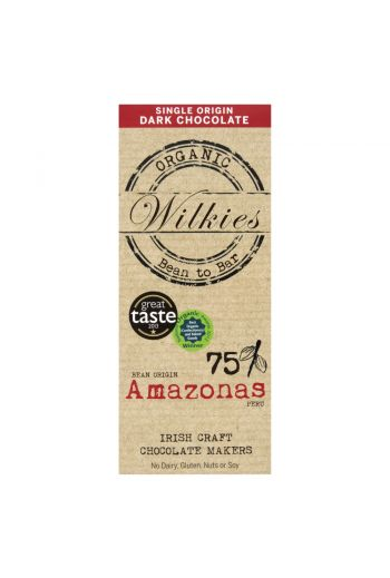 Organic Amazonas 65g chocolate bar 75%