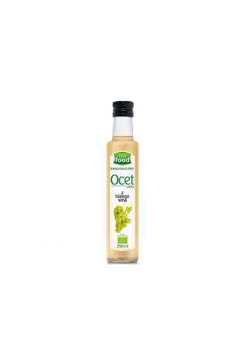 Organic white wine vinegar 100% 250ml / Ocet z białego wina ekologiczny 100% 250ml   /LOOK FOOD