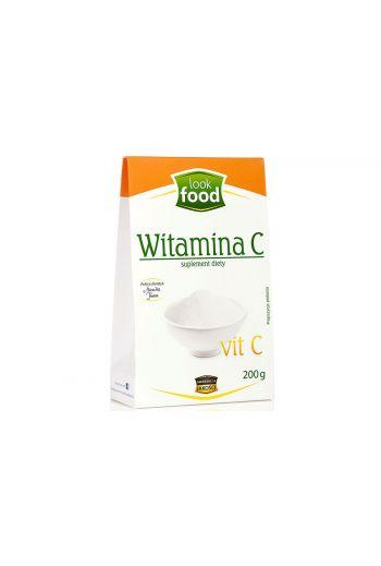 Vitamin C 200g / Witamina C 200g /LOOK FOOD