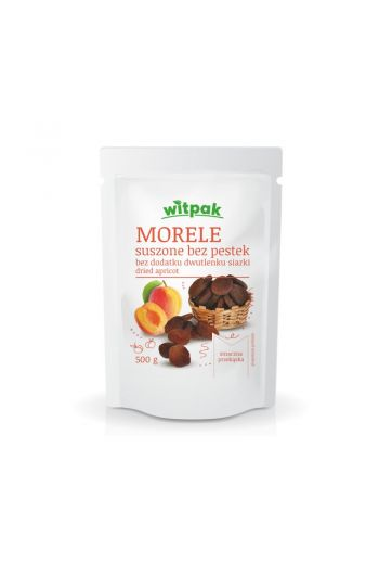 DRIED APRICPOT sulfur free 500g / MORELE SUSZONE bezsiarkowe 500g (qnt in box 24)/WITPAK