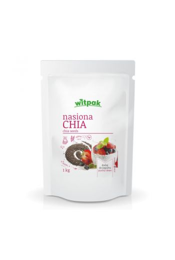 CHIA SEEDS 1KG / NASIONA CHIA 1KG (qty in box 12)/WITPAK