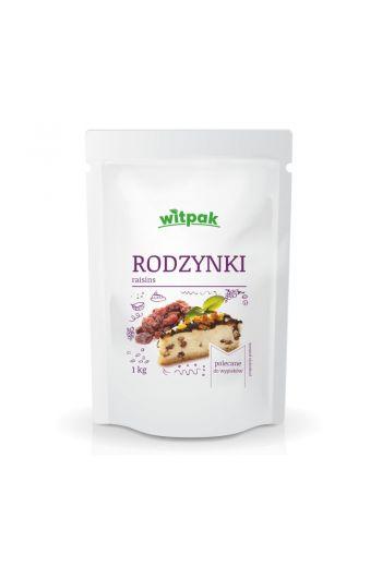 RAISINS 1KG / RODZYNKI 1KG (qnt in box 12)/WITPAK BB:28/02/2020