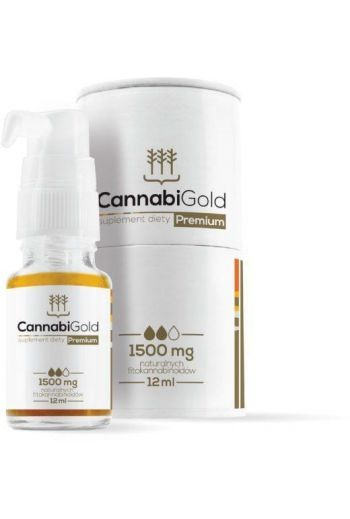 Cannabi Gold-premium 1500mg 12ml