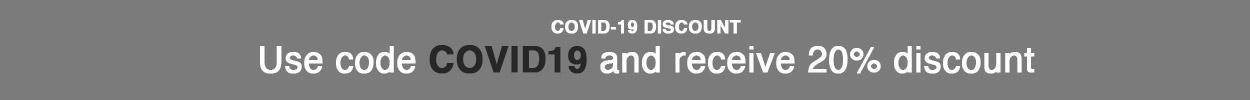 Covid-19 discount code